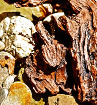 Wood and Stone Textures by alimuse