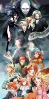 If Harry potter was an anime by BlackBulterMeow