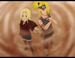 comish for Lover-Of-Deidara by Nishi06