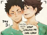 Day3: stop calling me iwa-chan by Nerrianah