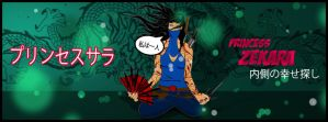 Princess Zekara (Facebook Cover) by writethedevil