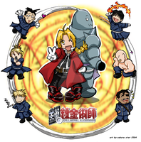 FMA: Military Mindworks by Sakura-Star