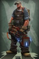 Miner Joe by digitalinkrod