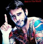 Best in the world #Cmpunk by NirvanaLyn13