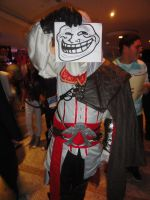 Ezio Auditore In: Trollface by sacrossanct