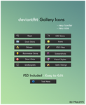 deviantArt Gallery Icons by Paulo1471