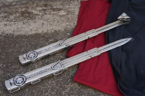 Hook Blade/Assassin Blade Prop Kits by ammnra