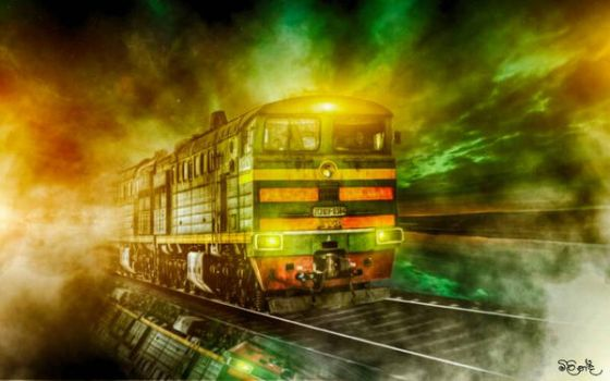 Ghost Train Wallpaper  by milindakandy