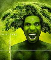 GREEN MAN by severianofilho