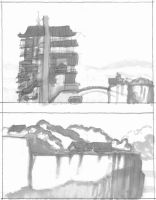 Landscape Sketches 01 by westernphilosopher