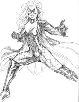 10042014 Black Canary by guinnessyde