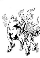 Amaterasu by Vulpes-Canis