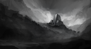 environment sketch 4 by oliverryanart