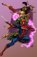 Spider-Man Thursday 33 color by logicfun