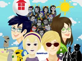Homestuck by goreos