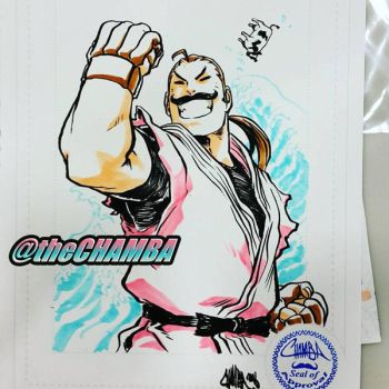 SDCC2016 - Dan by theCHAMBA