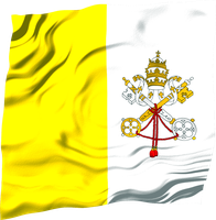 Flags of the World: Vatican City (Holy See) by MrAngryDog