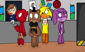 Five Nights At Mikes by mlppinkie1