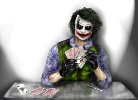 The Dark knight  Joker by Estebanmn