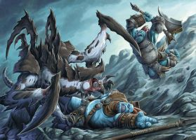 Axer vs Scythian by FStitz