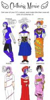 Clothing Styles Meme Ladyblue by IllyDragonfly