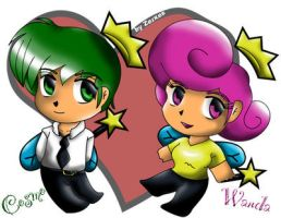 Chibi Fairly Odd Parents by Zerxes
