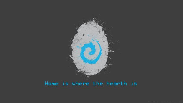 Home is where the hearth is by acidsamurai