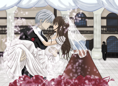 VK Wedding's day Zero and Yuuki by SteefLess