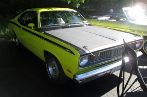 (1972) Plymouth Duster by auroraTerra