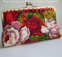 RUSSIAN BAROCCO Unique Clutch by TianaChe