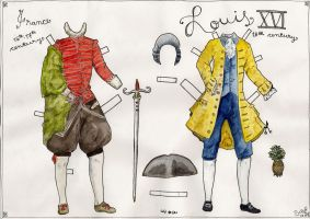 Louis XVI Paper Doll by beriquito