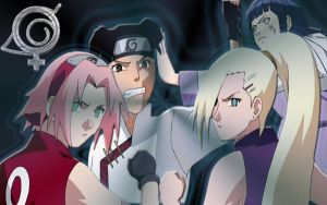 Girls from Naruto Shippuuden by Rin4