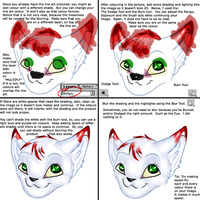 Colouring - Photoshop Tutorial by Xyiru