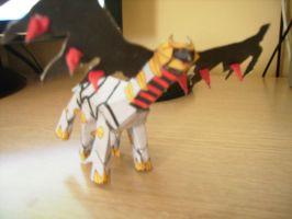 Giratina papercraft finished by E-419
