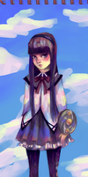 Homura by sachcell
