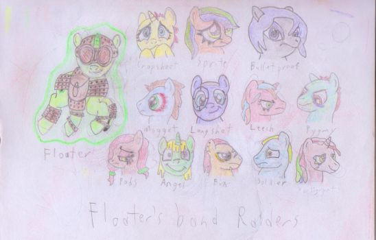 Floaters Band by 42ndchaos
