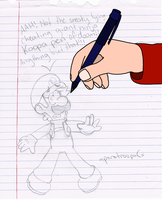 081 - Pen And Paper by paratroopaCx