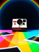 Rainbow Polaroid by ZoeWieZo