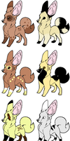Fennec Fox Adoptables 3 left! by TakeABreakNomKitKat