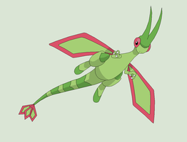 Pokemon Base 136~Flygon 2~