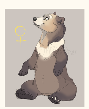New Bear OC by MBPanther