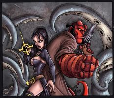 ::Nix+Hellboy+ColorsMe:: by IvyBeth
