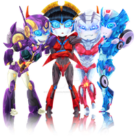 Lady bots by processormalfunction