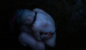 Birth in sorrow by Jesse-Gourgeon