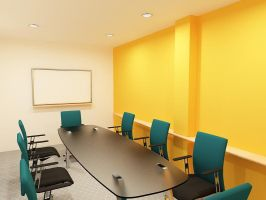 conference room_2 by gufranshaikh