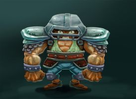 character design for mobile game by donpaking