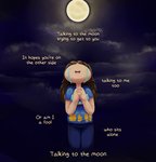 Talking to the Moon by Dipschtick