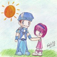 My fave couple -Lazytown- by lazytownfanclub