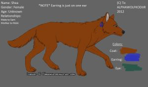 OFFICIAL SHEA REFERENCE SHEET 2012 by AlphaWolfKodijr