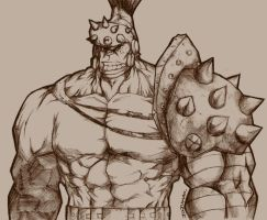 sketchy time 01:planet hulk by BLUEhazaRd